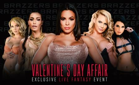 Brazzers LIVE Valentines Day Affair