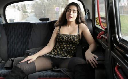 FakeTaxi Tights ripped and pussy fucked
