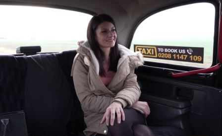 Fake Taxi Lesbian tries cock for first time