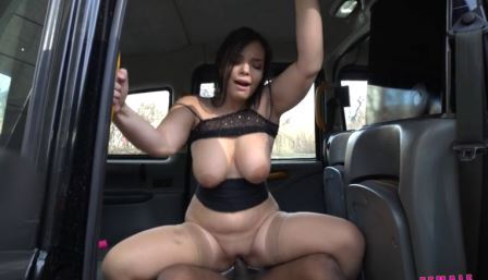 Female Fake Taxi The Filthy Bag of Sex Toys